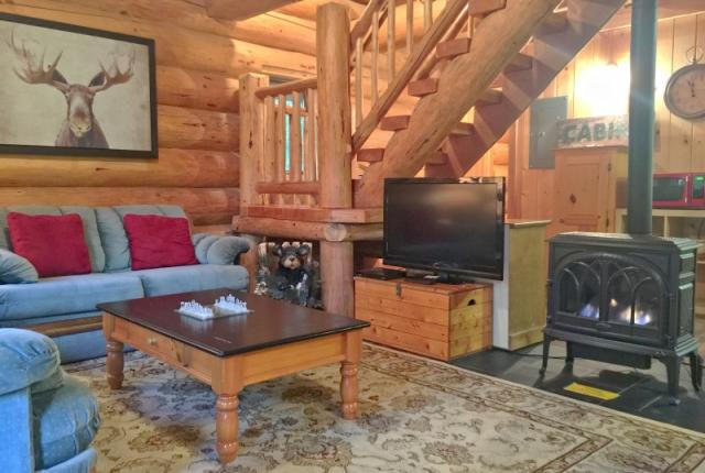 Mt. Baker Lodging Cabin #10 – REAL LOG CABIN, GR-8 AMENITIES, WIFI, SLEEPS-8! photo 59322