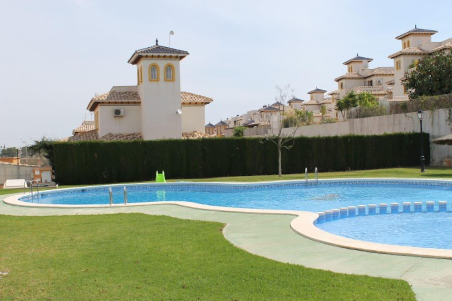 Apartment Playa Golf  st floor apartment   com pool P243 photo 28557091