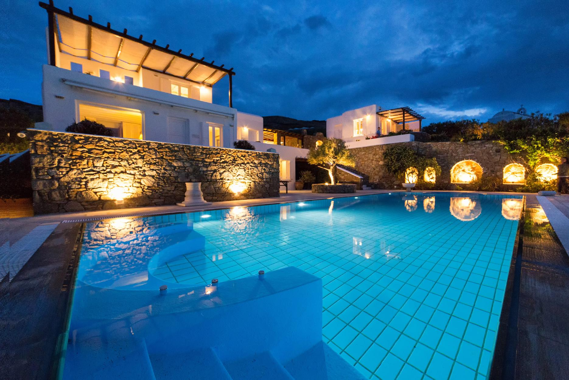 Apartment The Galaxy Mykonos villa with large pool and yoga platform photo 6005339