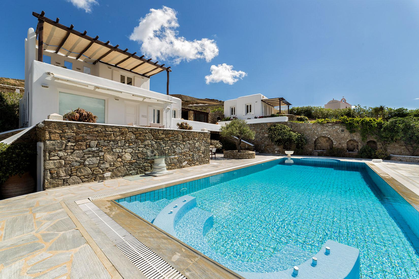 Apartment The Galaxy Mykonos villa with large pool and yoga platform photo 6005341