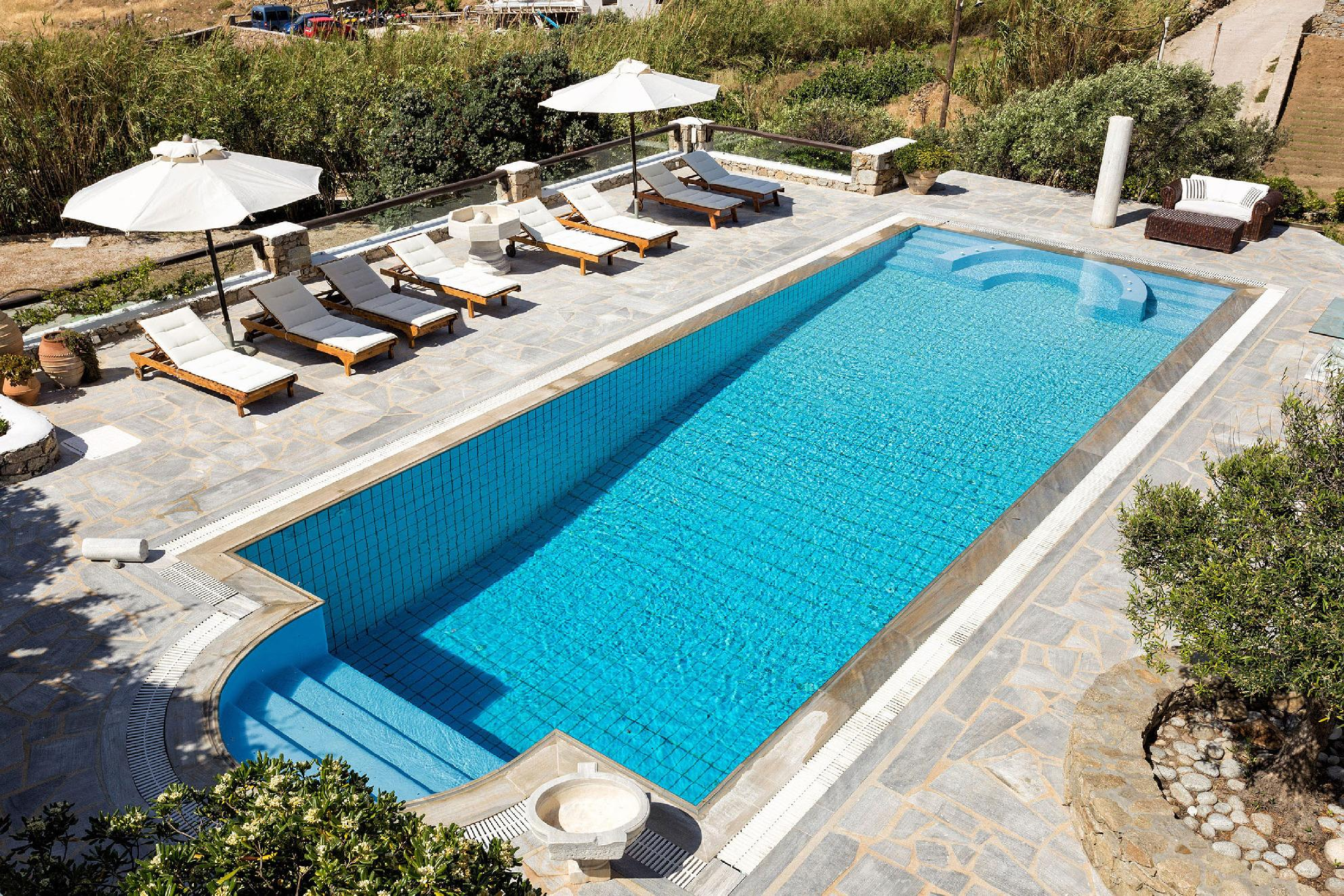 Apartment The Galaxy Mykonos villa with large pool and yoga platform photo 6005280