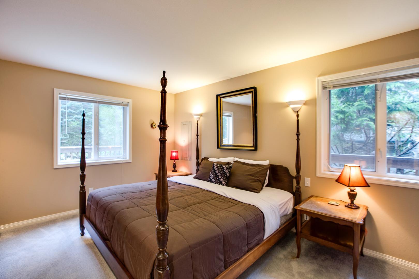 Apartment Mt  Baker Lodging Cabin  58     FIREPLACE  DISHWASHER  WIFI  SLEEPS 6  photo 4276965