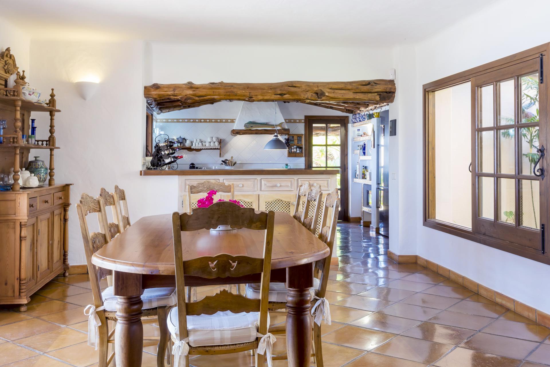 Apartment Villa Cas Berris  Lujo y Vista mar en Es Cubells photo 17719989