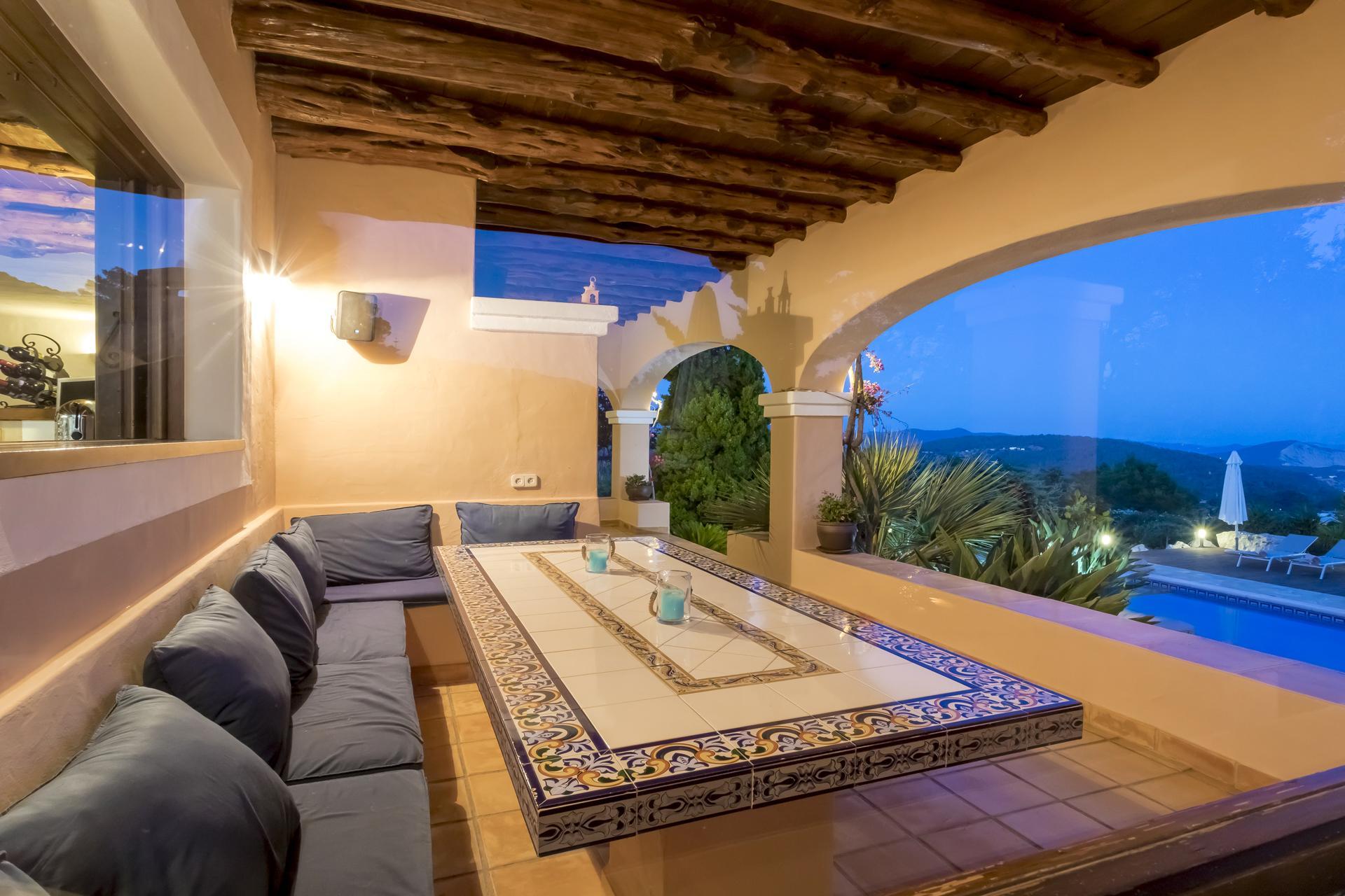 Villa Cas Berris. Lujo y Vista mar en Es Cubells photo 17644613