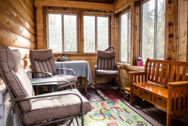 Mt. Baker Lodging Cabin #21 – REAL LOG CABIN, BBQ, PETS OK, SLEEPS-6! photo 59549