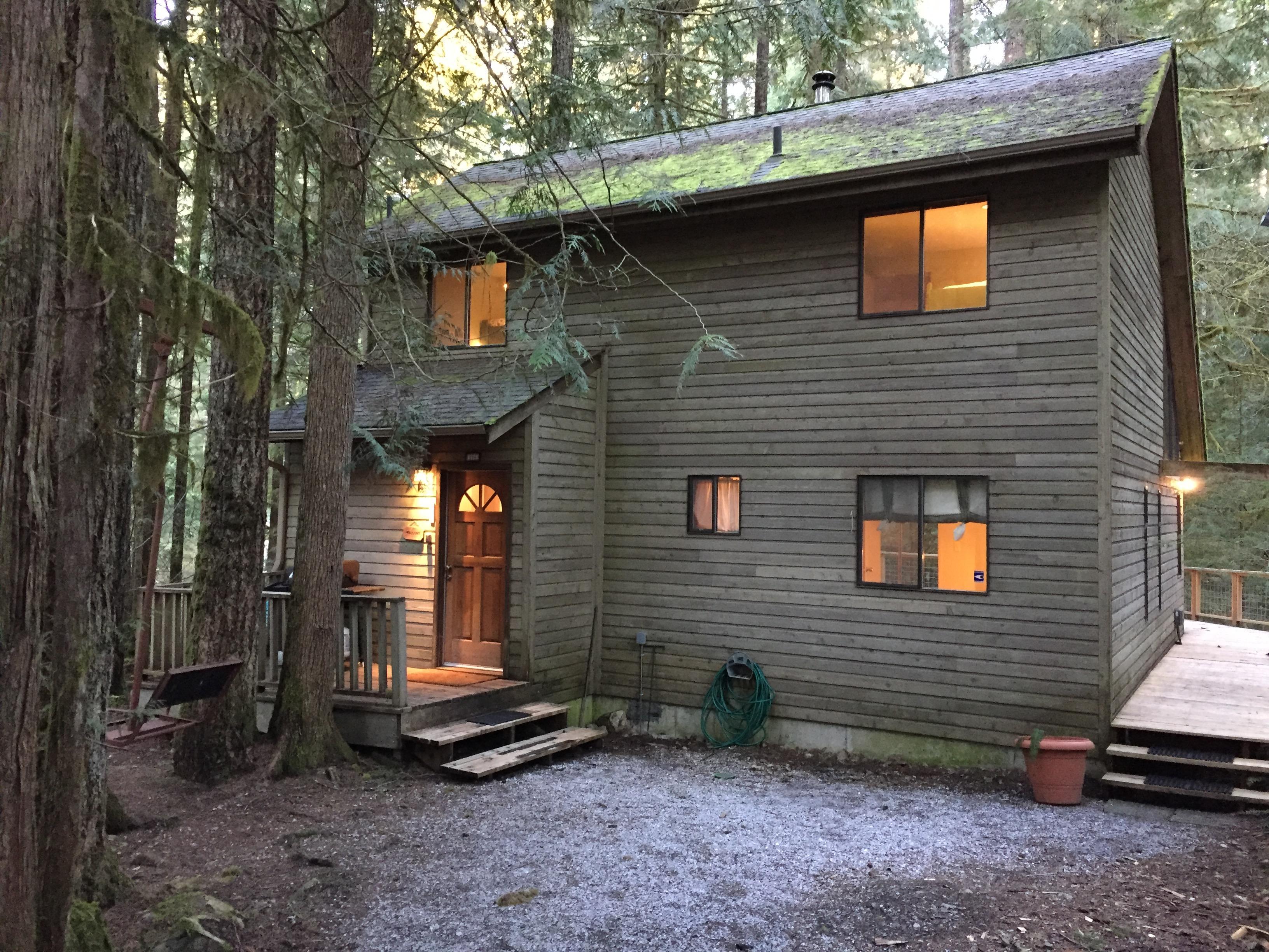 Apartment Mt  Baker Lodging Cabin  55 - HOT TUB  WOOD STOVE  BBQ  SLEEPS 10  photo 3998984