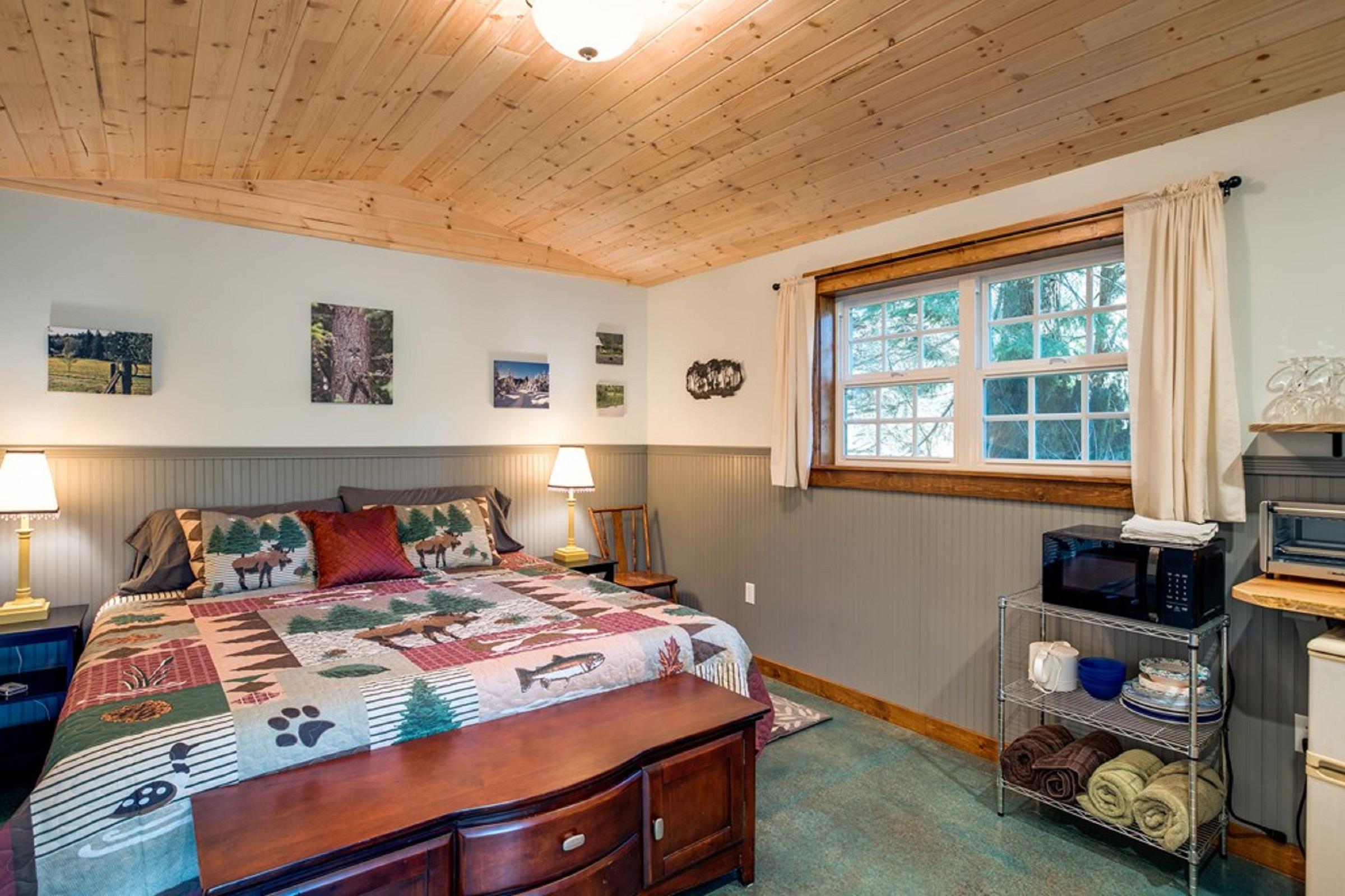Mt. Baker Lodging Cabin #72 – PET FRIENDY, MT VIEWS, BBQ, SLEEPS 2! photo 31818156