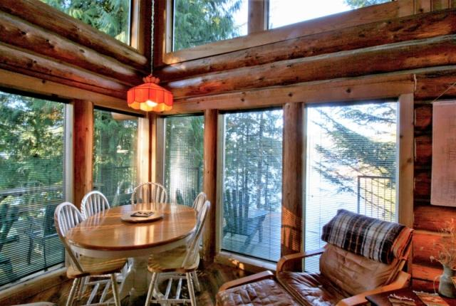 Mt. Baker Lodging Cabin #97 – REAL LOG CABIN, LAKESIDE, DOCK, PETS OK, SLEEPS-6! photo 60985