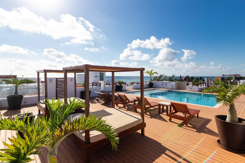 Gorgeous Ocean View Condo: Pretty Private terrace photo 11111561