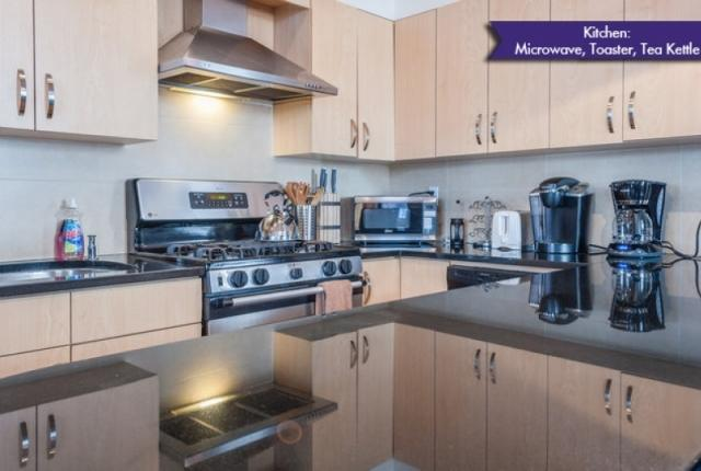 Stainless Steel Kitchen with all Appliances