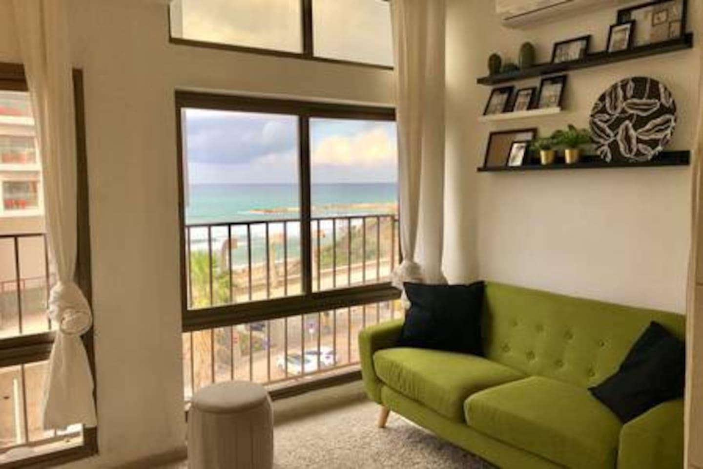 Sea View tropical designed apt in front of Hilton photo 22820555