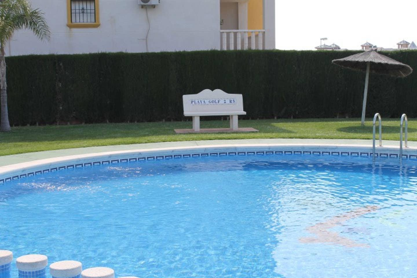 Playa Golf 1st floor apartment & com pool P248 photo 28557131