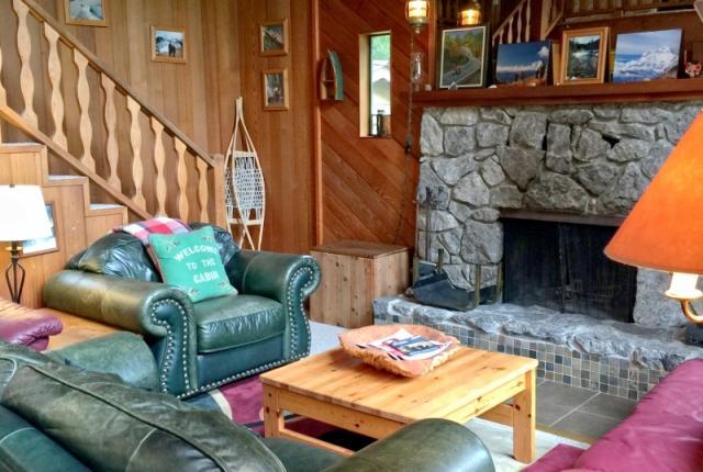 Mt. Baker Lodging Cabin #53 – HOT TUB, FIREPLACE, WIFI, D/W, W/D, SLEEPS-6! photo 60484